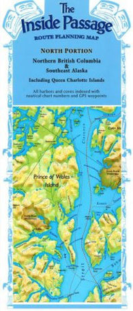 Buy map Inside Passage, Alaska and Canada, North Portion by Fine Edge