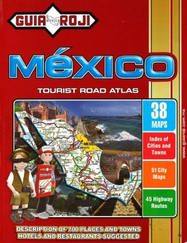 Buy map Mexico Tourist & Road Atlas by Guia Roji