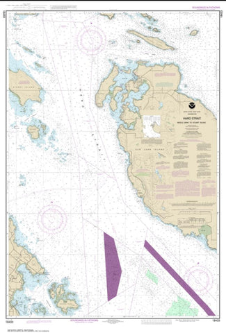 Buy map Haro-Strait-Middle Bank to Stuart Island (18433-6) by NOAA