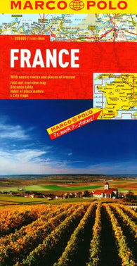 Buy map France by Marco Polo Travel Publishing Ltd