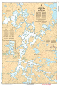 Buy map Eaglenest Lake to/a Whitedog Dam by Canadian Hydrographic Service