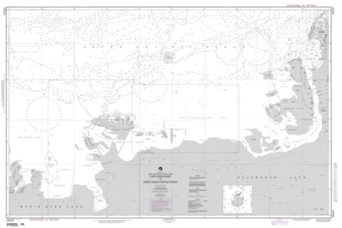 Buy map Cape Herlacher To Matha Strait (NGA-29005-7) by National Geospatial-Intelligence Agency