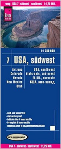 Buy map United States, Southwest by Reise Know-How Verlag