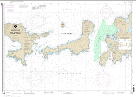 Buy map Adak Island to Tanaga Island (16467-2) by NOAA
