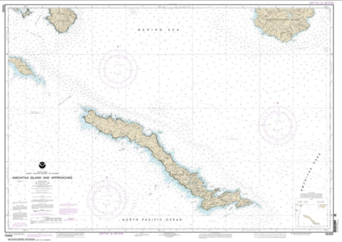 Buy map Amchitka Island and Approaches (16450-2) by NOAA