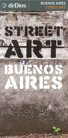Buy map Buenos Aires, Street Art Map by deDios