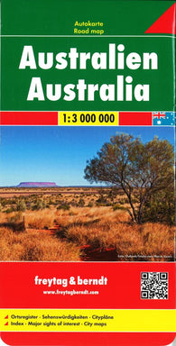 Buy map Australia by Freytag-Berndt und Artaria