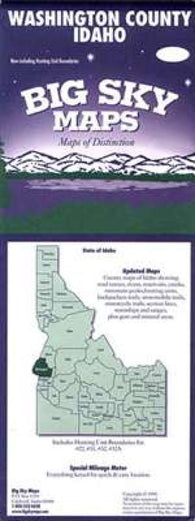 Buy map Washington County, Idaho by Big Sky Maps