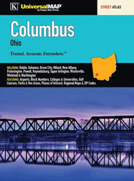 Buy map Columbus, OH, Street Atlas by Kappa Map Group