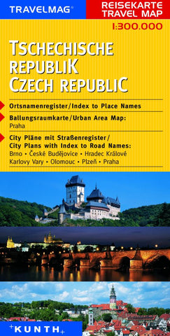Buy map Czech Republic by Kunth Verlag