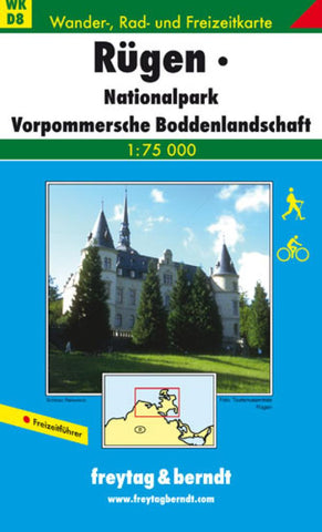 Buy map Rugen by Freytag-Berndt und Artaria