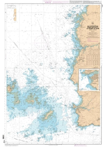 Buy map Port du Conquet by SHOM