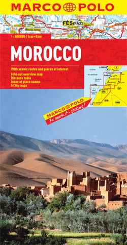 Buy map Morocco by Marco Polo Travel Publishing Ltd