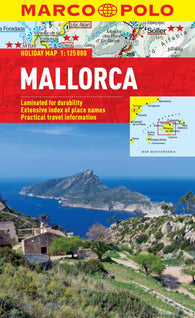 Buy map Mallorca, Spain by Marco Polo Travel Publishing Ltd