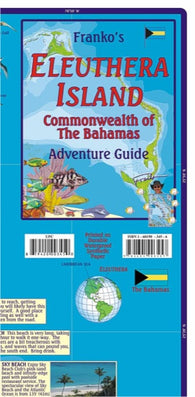 Buy map Bahamas Map, Eleuthera Island Adventure Guide, folded, 2011 by Frankos Maps Ltd.