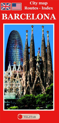 Buy map Barcelona, Tourist Map (English Edition) by Distrimapas Telstar, S.L.