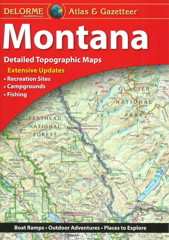 Buy map Montana Atlas and Gazetteer by DeLorme