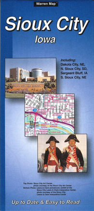Buy map Sioux City, Iowa by The Seeger Map Company Inc.