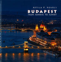 Buy map Budapest From Sunrise To Sunset by Pannon-Kultúra KFT