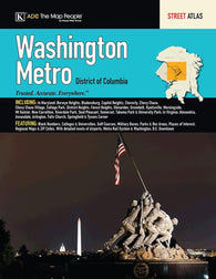 Buy map Washington, DC, Metro Street Atlas by Kappa Map Group
