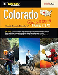 Buy map Colorado, Recreational Travel Atlas by Kappa Map Group