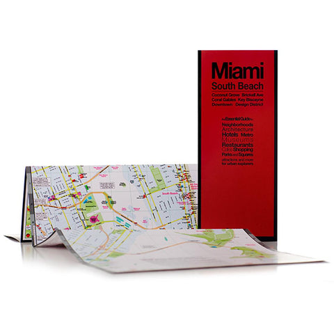 Buy map Miami, Florida with South Beach by Red Maps