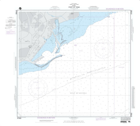 Buy map Port Of Tema And Accra Roads; Plan A: Port Of Tema (NGA-57082-4) by National Geospatial-Intelligence Agency