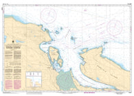 Buy map Approaches to/Approches a Nanaimo Harbour by Canadian Hydrographic Service