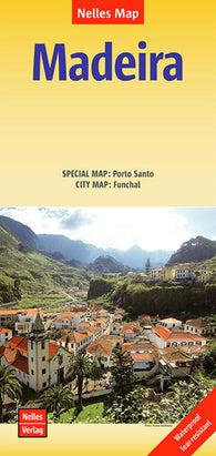 Buy map Madeira, Portugal by Nelles Verlag GmbH