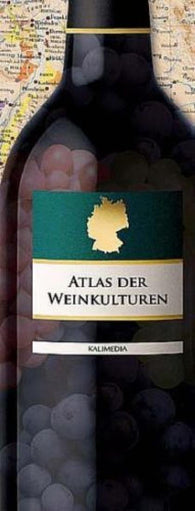 Buy map Atlas of Wine Cultures : Germany by Kalimedia