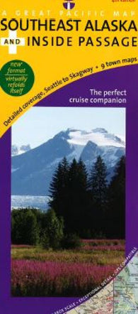 Buy map Alaskas Kenai Peninsula, All-Season Recreation by Great Pacific Recreation & Travel Maps