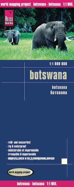 Buy map Botswana by Reise Know-How Verlag