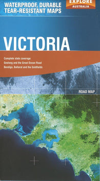Buy map Victoria, Australia by Explore Australia