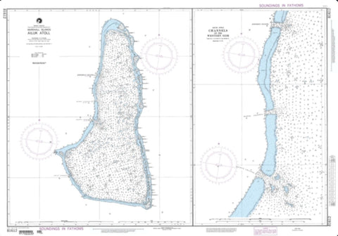 Buy map Ailuk Atoll, Marshall Islands (NGA-81612-2) by National Geospatial-Intelligence Agency
