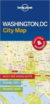 Buy map Washington DC Map by Lonely Planet Publications