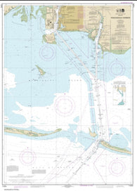 Buy map Pascagoula Harbor (11375-38) by NOAA