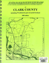 Buy map Clark County, Washington Atlas by Pittmon Map Company