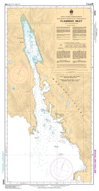 Buy map Flamingo Inlet by Canadian Hydrographic Service