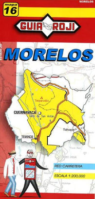 Buy map Morelos, Mexico, State Map by Guia Roji