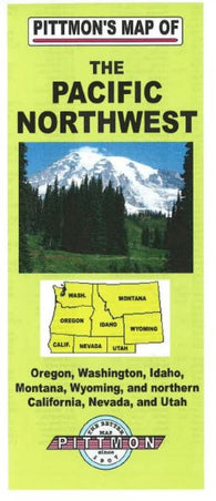 Buy map Pacific Northwest by Pittmon Map Company