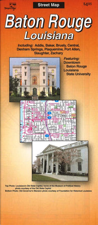 Buy map Baton Rouge, Louisiana by The Seeger Map Company Inc.