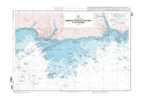 Buy map Abords et ports de Gullvinec et de Lesconil by SHOM