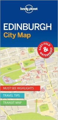 Buy map Edinburgh, Scotland: City Map by Lonely Planet Publications
