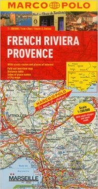 Buy map French Riviera and Provence, France by Marco Polo Travel Publishing Ltd