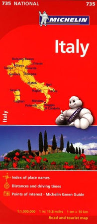 Buy map Italy (735) by Michelin Maps and Guides