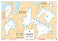 Buy map Manitoulin Island Lakes/Lacs Sur Manitoulin Island by Canadian Hydrographic Service