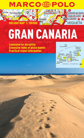 Buy map Gran Canaria, Spain by Marco Polo Travel Publishing Ltd