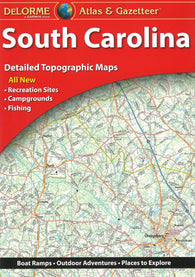 Buy map South Carolina, Atlas and Gazetteer by DeLorme