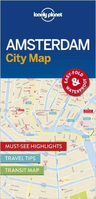 Buy map Amsterdam City Map by Lonely Planet Publications