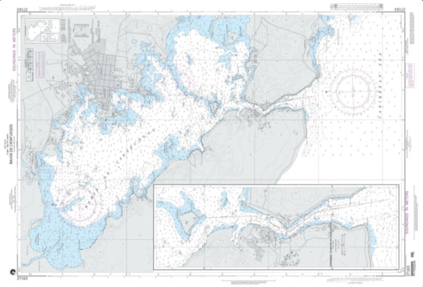 Buy map Bahia De Cienfuegos (NGA-27163-21) by National Geospatial-Intelligence Agency